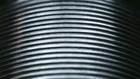 solder: Tin solder for soldering very close up Stock Photo