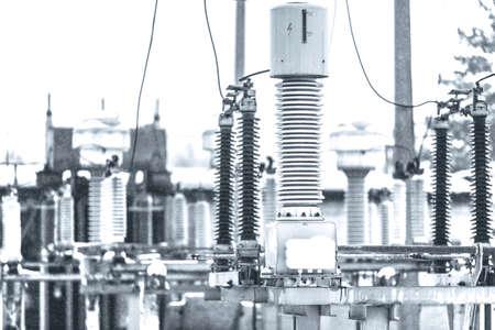 energia electrica: De alta tensión de energía eléctrica. Estructura de la central eléctrica