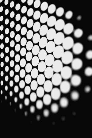 Black and white honeycomb background Stock Photo
