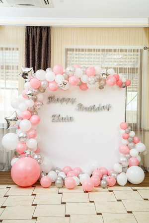 Decoration and decor for children's party