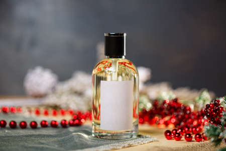 New Year Scent Perfume Bottle