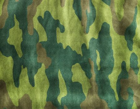 Camouflage series in traditional swampy green and beige photo