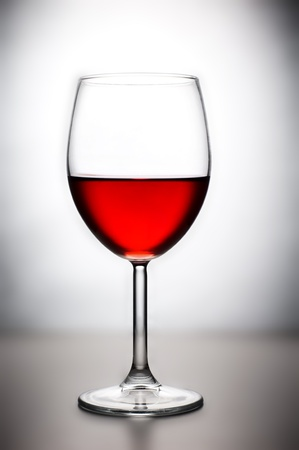 still life. glass of red wine photo