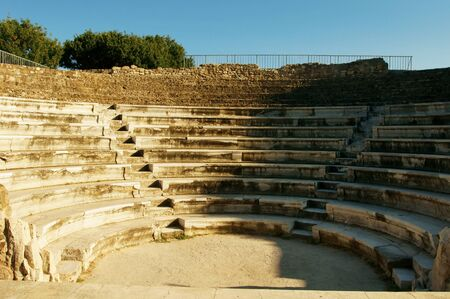 amphitheatre: small ancient greek amphitheatre on a sunny summer day