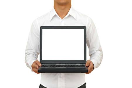 handsom: Negocios imagen. F�cil editable. A�adir texto a usted port�til de pantalla ...