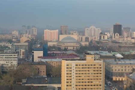 novosibirsk: Russia. Novosibirsk. Opera and Ballet Theatre. NOVAT.
