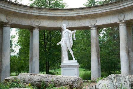 colonnade: Apollo colonnade in Pavlovsk, St. Petersburg