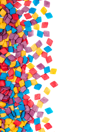 confections: Colorful candy decoration