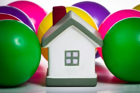 house insurance: House insurance concept