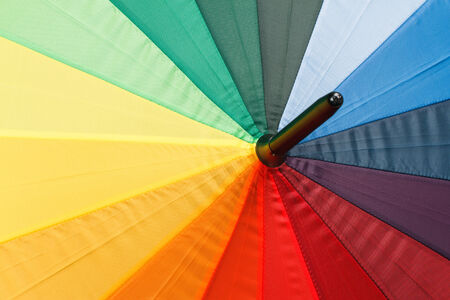 Colorful umbrella background photo