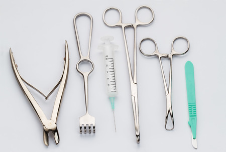 medical supplies: Surgical instruments collection