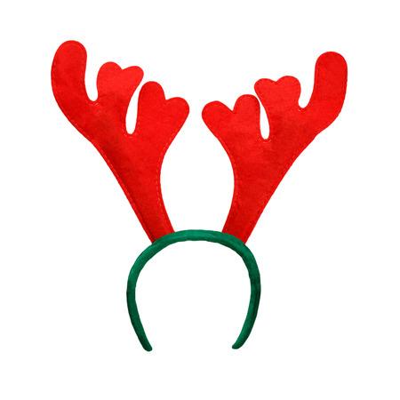 renos de navidad: Cornamenta divertido de la Navidad de un ciervo