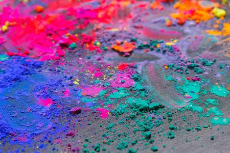 arte abstracto: Fondo colorido hecho de tintes indios