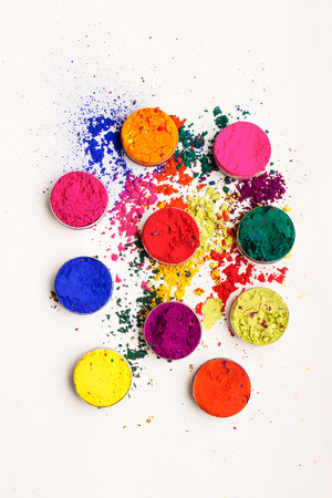 Abstract colorful background - Indian Holi festival colours