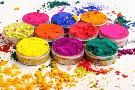 holi: Indian Holi festival colours