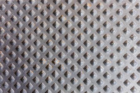 bulge: Black cast iron metal pattern as background