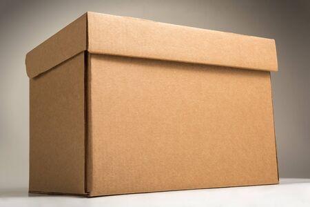 Cardboard archive storage box