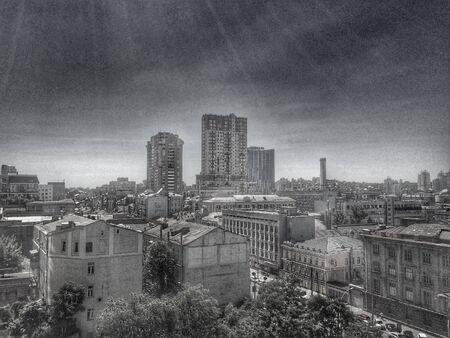 kiev: Kiev landscape Stock Photo