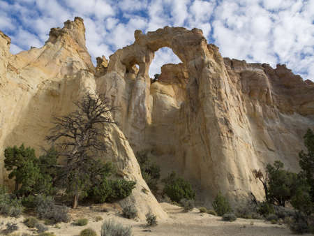 cottonwood canyon: Grosvenor Arch