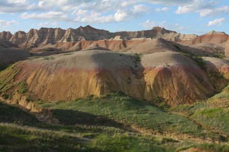 mounds: Yellow Mounds Stock Photo