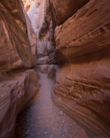 slot canyon: White Dome Slot Canyon, Valley of Fire