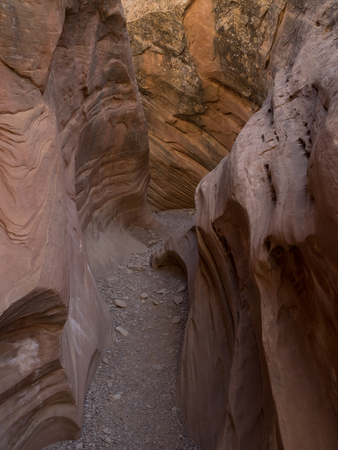 San Rafael Swell: Little Wildhorse Canyon Stock Photo