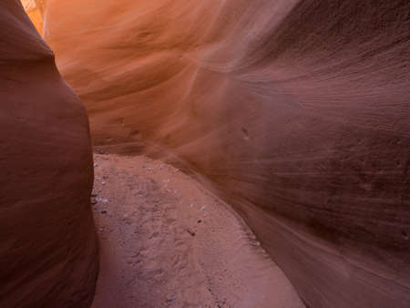 slot canyons: Lower Maidenwater Canyon