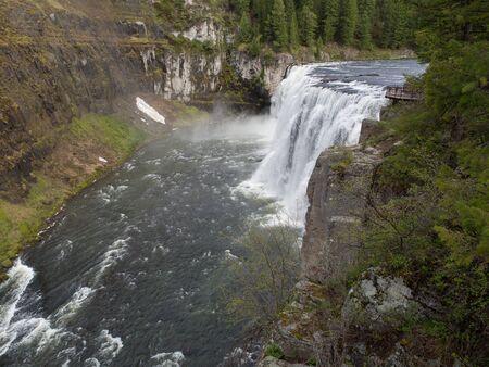 mesa: Upper Mesa Falls
