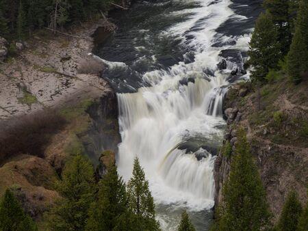 mesa: Lower Mesa Falls