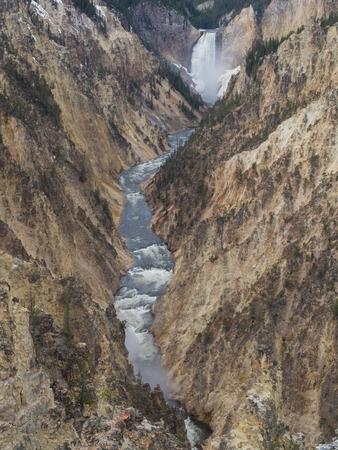 Lower Yellowstone Falls Stock fotó - 39655373