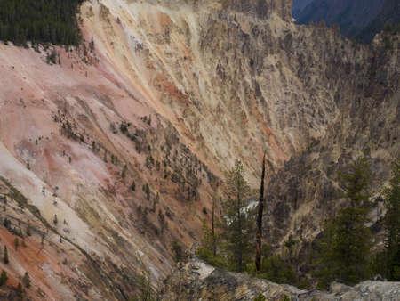Grand Canyon of the Yellowstone Фото со стока