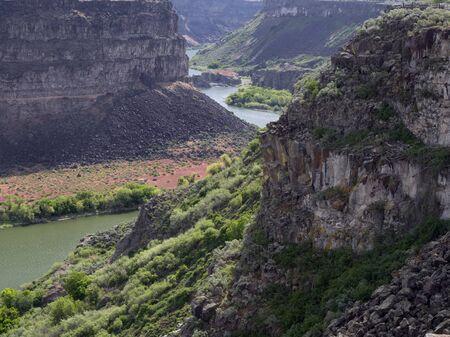 labourer: Snake River Canyon