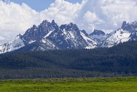 sawtooth national forest: Mt. Heyburn