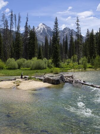 sawtooth national forest: Grandjean