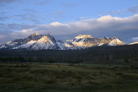sawtooth national forest: Williams and Merritt Peaks