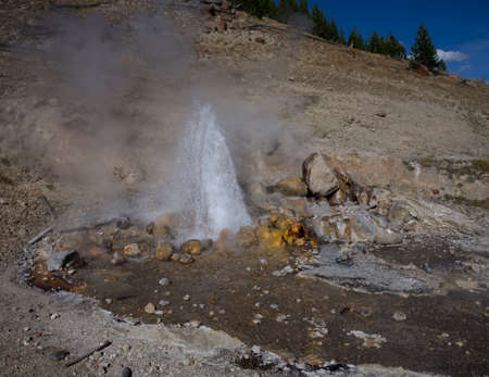 Spray Geyser Stock fotó - 45059747