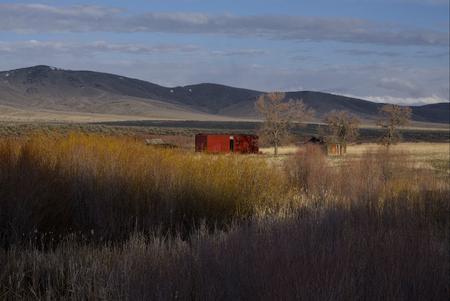 Abandoned Farm in Arbon Valley, Idaho
