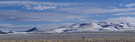 Hills on the Fort Hall Reservation Stok Fotoğraf