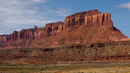 butte: Butte Near Canyonlands National Park