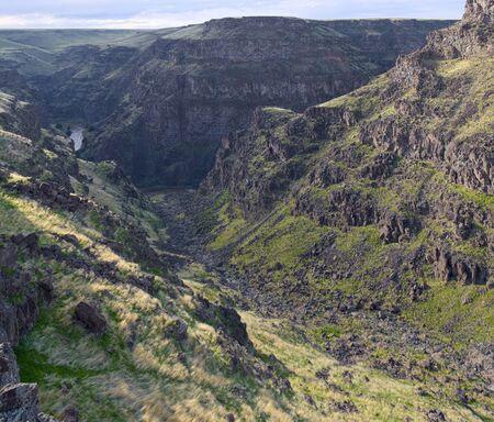 Brunea Canyon from Roberson East Фото со стока