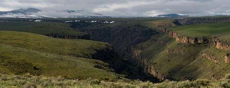 East Fork Jarbidge Canyon Фото со стока
