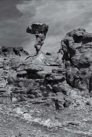 Balanced Rock near Castleford Idaho