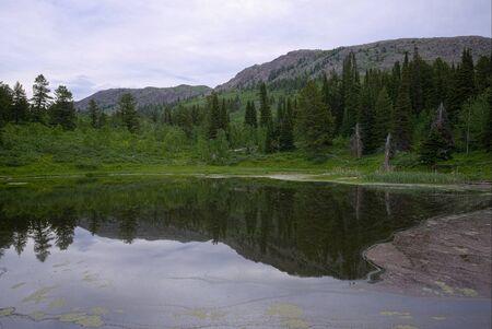 Frog Pond and Scout Mountain Фото со стока