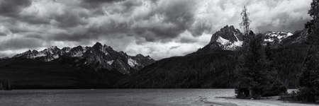 Redfish Lake Фото со стока