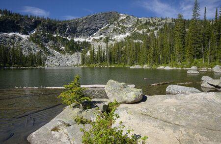 Pyramid Lake Фото со стока