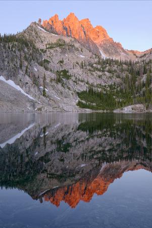 Fourth Bench Lake Фото со стока