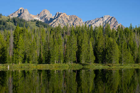 First Bench Lake Фото со стока