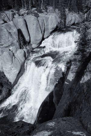Terraced Falls Фото со стока