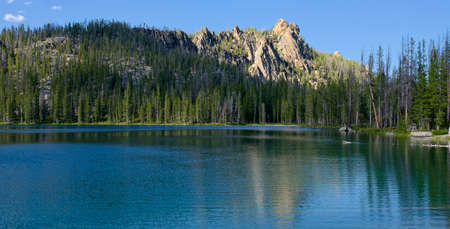 Golden Trout Lake Фото со стока
