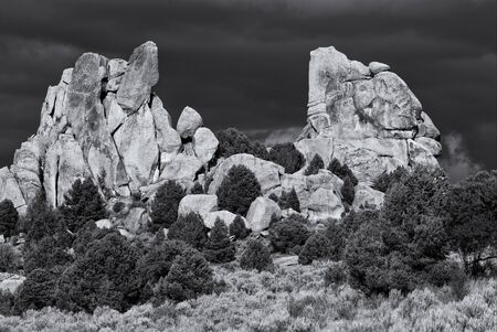 Saddle Rock Фото со стока